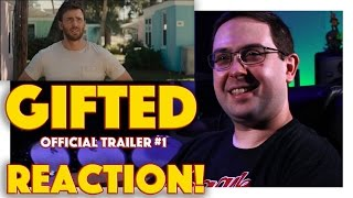 REACTION! Gifted Official Trailer #1   Chris Evans Movie 2017