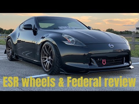 370z with ESR SR08 wheels on Federal RR RS. Was it  worth the investment?