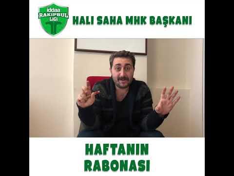 Halı Sahaların MHK Başkanı Arif Sevimli ile Haftanın Rabona Golü sizlerle!