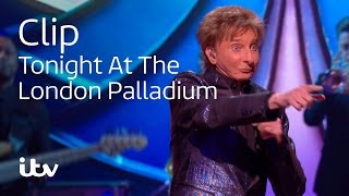 Barry Manilow Sings Copacabana | Tonight At The London Palladium | ITV