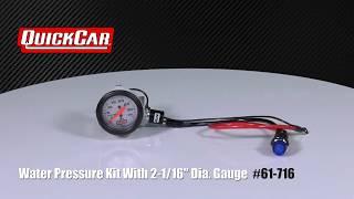 Water Pressure Gauge Kit #61-716