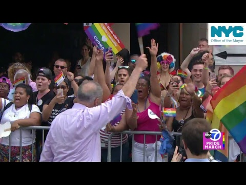 NYC Pride March Live Coverage