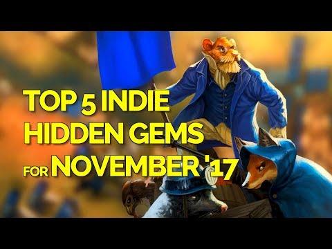 Top 5 Indie Game Hidden Gems - November 2017