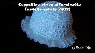 Cappellino Per Bambina Alluncinetto Modello Glicine дом 2