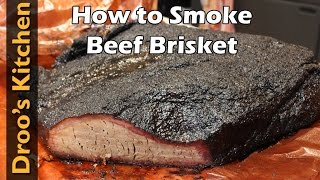 How to Smoke a Beef Brisket - Franklin BBQ Style