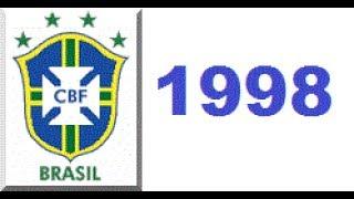 Coração Verde E Amarelo   Tema Para A Copa Do Mundo 1998   Seleção Brasileira