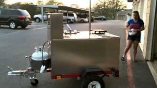Hot Dog Cart day 1