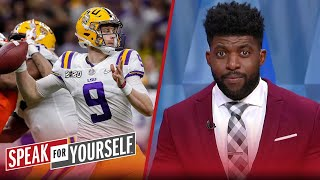 Joe Burrow could struggle due to the abnormal introduction into the NFL | SPEAK FOR YOURSELF