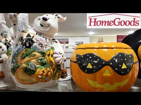 Homegoods NEW RAE DUNN HALLOWEEN FALL DECOR SHOP WITH ME 2018