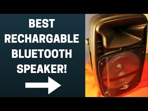 Best Rechargeable Bluetooth Speaker – Dolphin 8 Inch Party Speaker Review (SP-8ERBT)