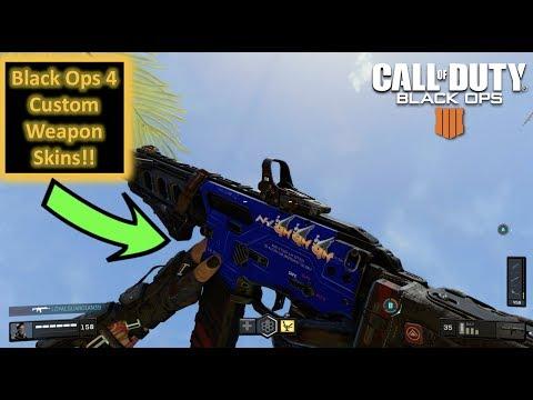 How To Create Custom Weapon Skins In Black Ops 4