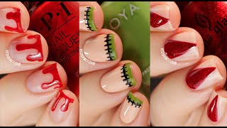 SIMPLE Halloween Nail Art Design Tutorial Compilation || KELLI MARISSA