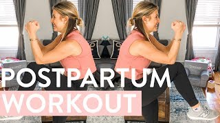 At Home Workout 10-Minutes Full Body | Nap Time Postpartum Workout, Post Pregnancy Safe Exercises