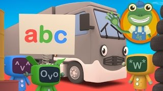 Gecko's Garage ABC | Learn the Alphabet with Big Trucks