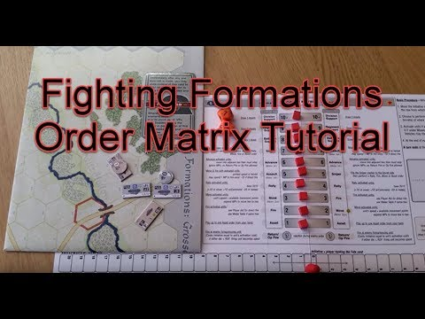 Fighting Formations Order Matrix Tutorial with Examples