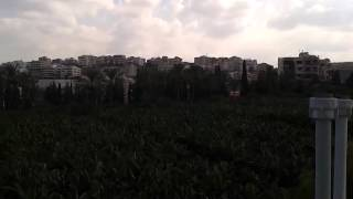 preview picture of video 'Brameya,Sidon City,On the roof of my houseالبرامية صيدا فوق سطح بيتنا'