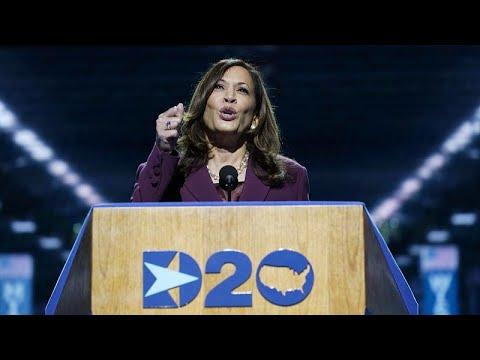 ΗΠΑ: Και επίσημα υποψήφια Αντιπρόεδρος η Κάμαλα Χάρις