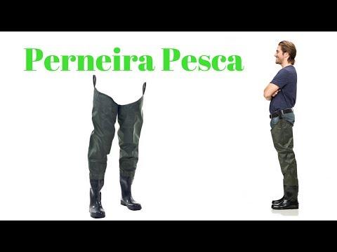 Bota pesca. Perneira virilha PANTANEIRO. Unboxing do Hoplias.