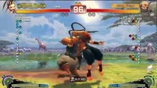 Sako (Ibuki) Vs VER (Gouken) - AE 2012 Endless Match *720p HD*