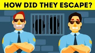 12 POPULAR RIDDLES ON ESCAPE. CAN YOU SOLVE IT?