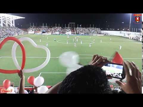 """""""Real Estelí 2-1 Diriangén FC (Recibimiento Barra Kamikaze)"""" Barra: Barra Kamikaze • Club: Real Estelí"""