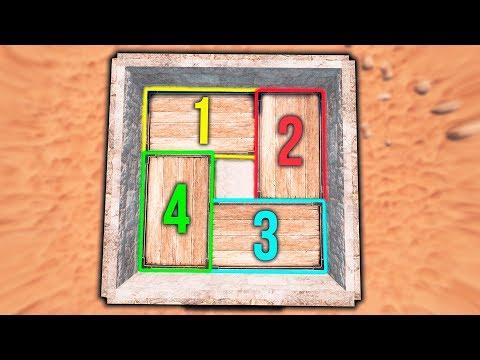 Rust 4 ящика на 1 фундамент   Раст гайд #1