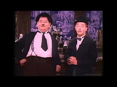 Laurel & Hardy - The Trail Of The Lonesome Pine (1937) (Colour) (HD)