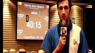 Etapa#9 Campeonato De España De Poker 2011 (Madrid): Presentación Día 1A