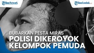Tegur Pemuda Mabuk, Anggota Polisi di Dompu Dikeroyok hingga Luka Parah