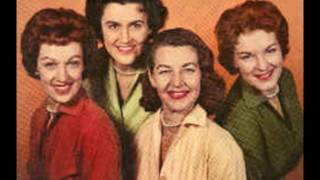 The Chordettes - That's Old Fashioned (That's The Way Love Should Be) - (c.1962).