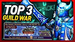 Knights and Dragons - STORM CALLING TOP 3 GUILD WAR!!!  Iceberg Praetorian+ WATER/AIR SF! w/Giveaway
