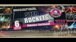 Weco Star Rockets - kleine coole Raketen