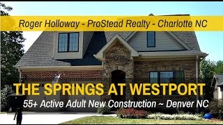 55+ Communities Near Charlotte NC   The Springs At Westport