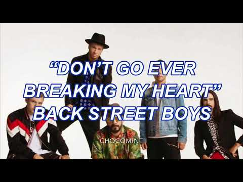 ★日本語訳★Don't Go Ever Breaking My Heart - Backstreet Boys