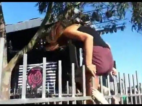 Girl giving naked oil massage