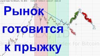 Рынок готовится к прыжку = Биткоин 29 09 18