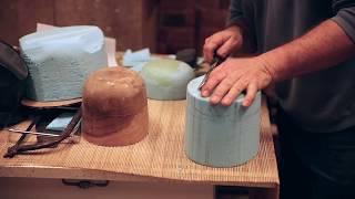 How To Make A Wet Felt Hat Block