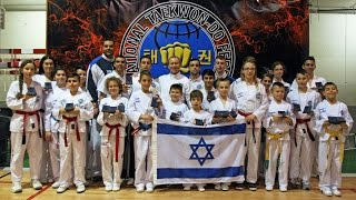 preview picture of video 'Taekwon-Do I.T.F Ashdod Israel - Fuji Mae Open Cup - Spain 2015'