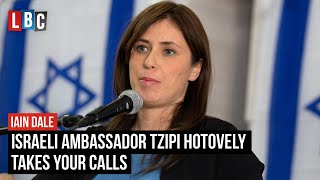 Israeli Ambassador Tzipi Hotovely takes your calls | Watch LIVE from 8PM