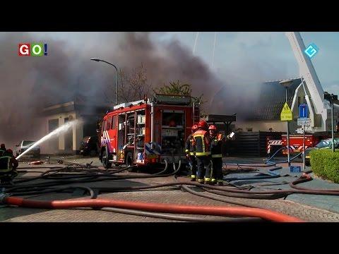 Explosie en zeer grote brand in Winschoten. - RTV GO! Omroep Gemeente Oldambt