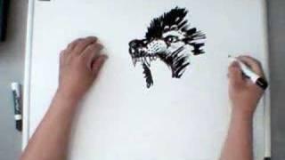 Волки и Оборотни, Рисуем волка!