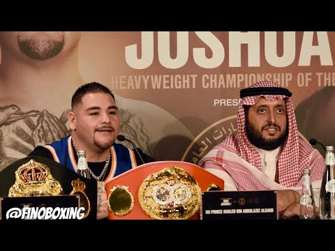 ANDY RUIZ IN SAVAGE MODE: I WILL DO ANYTHING TO RETAIN MY TITLES, READY TO ROCK ON ROLL