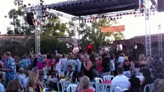 Jumping Jack Flash at Mission San Juan Capistrano's Music Under the Stars 2012