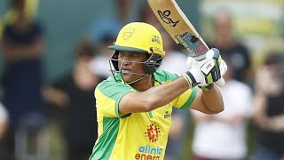 Cricket legend Sachin Tendulkar padded up for the first time in five and a half years for a good cause - Sunday's Bushfire Cricket Bash charity match, raising funds for those effected by the Australian bushfires.