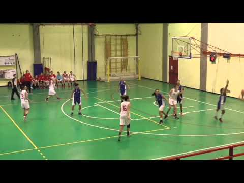 Preview video Serie B: Varese - Villasanta 65-41