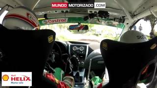 preview picture of video 'RALLY TILARAN 2012 - TC2 ON BOARD MONTALTO - QUIRÓS'