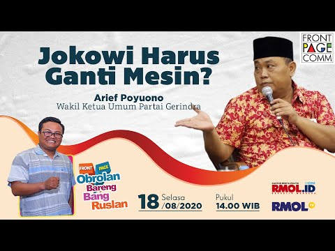 FRONT PAGE | Jokowi Harus Ganti Mesin?