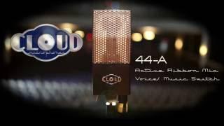 Elvis Costello Chooses Cloud 44-A Ribbon Mic