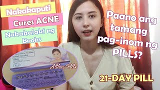 How To Take Contraceptive Pills | Althea Pills (21-day Pill) | Tamang Paginom ng Pills