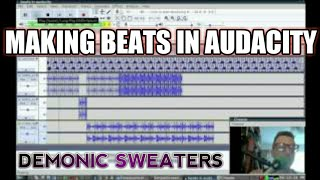 Making Beats in Audacity with a Label Grid and Loops